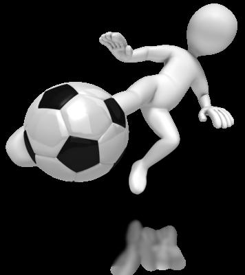 Md stick figure kick soccer 400 clr 6087